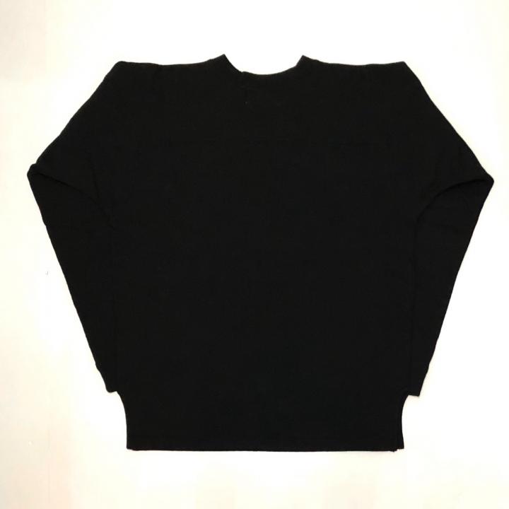 WIGEROO – CREW NECK SWEAT / BLACKの商品画像2