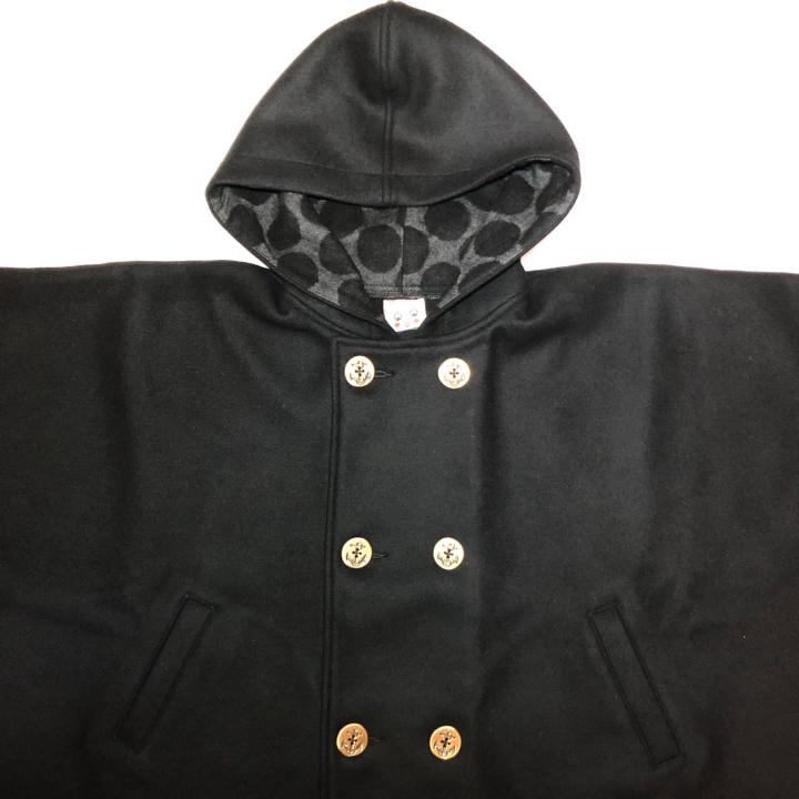 BIG HOODIE – CAPE COATの商品画像3