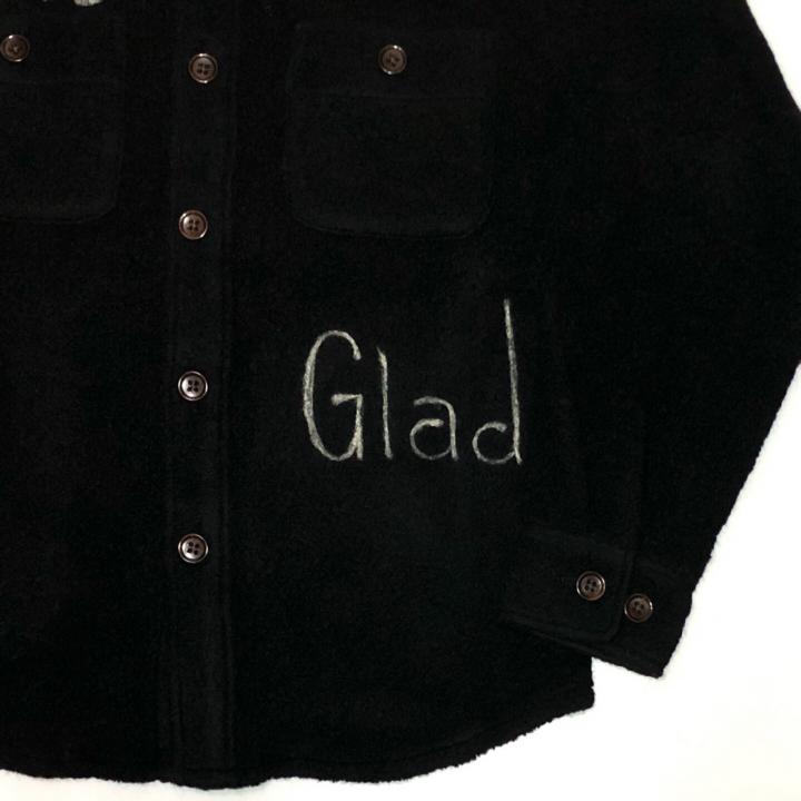 THE GLAD – L/S BOA SHIRTS / BLACKの商品画像3