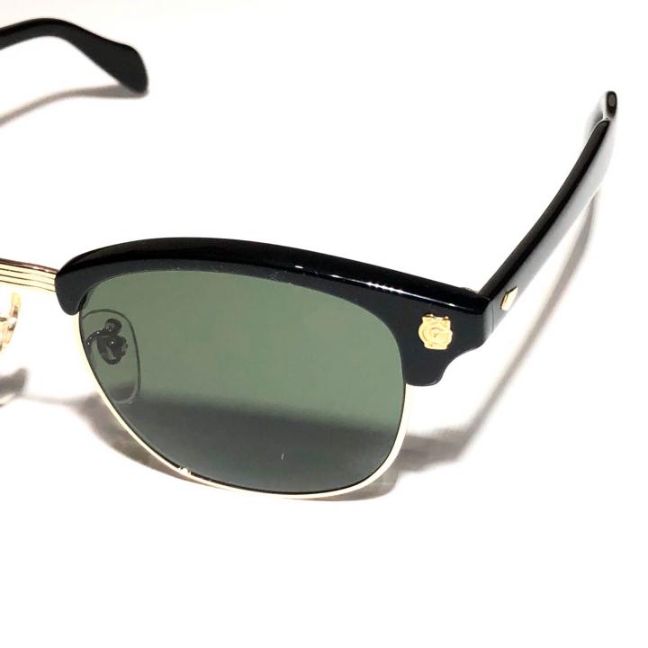 COLLINS – GLASSES / GOLD BLACK × D.GREENの商品画像2