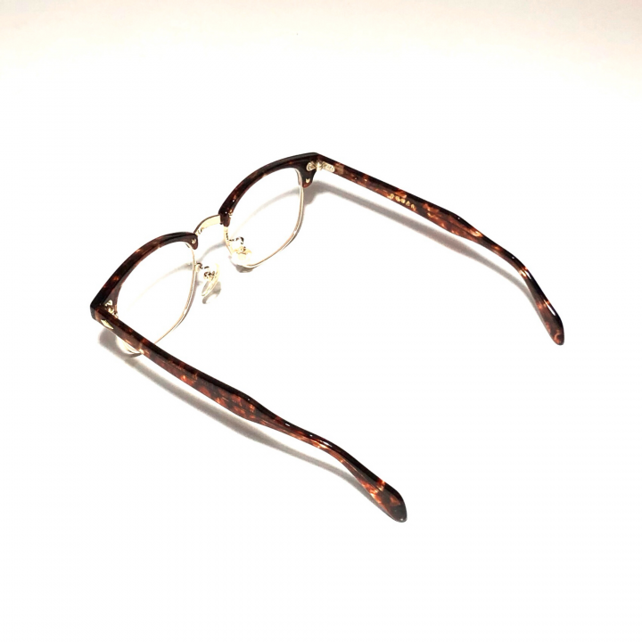 COLLINS – GLASSES / GOLD AMBER × CLEARの商品画像3