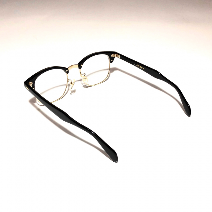 COLLINS – GLASSES / GOLD BLACK × CLEARの商品画像3