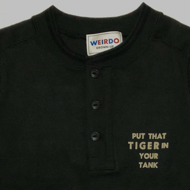 TIGER CROSS – L/S T-SHIRTS / BLACKの商品画像3