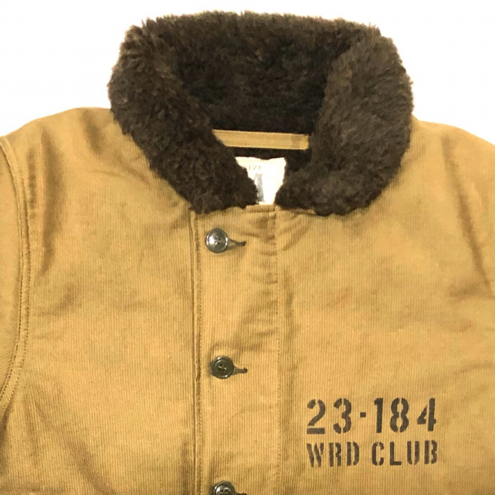 WRD CLUB – DECK JACKET / HAND PAINT / KHAKIの商品画像3
