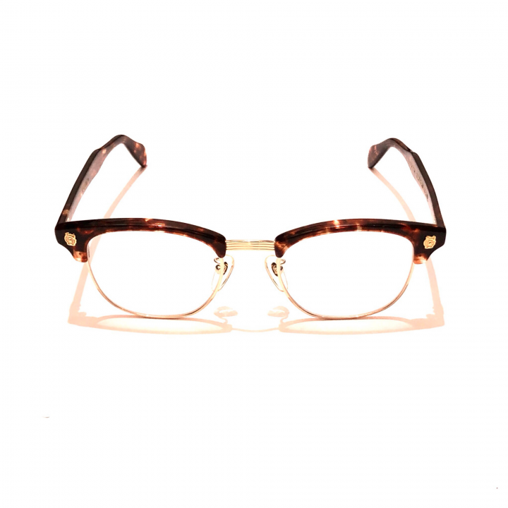 COLLINS – GLASSES / GOLD AMBER × CLEARの商品画像1