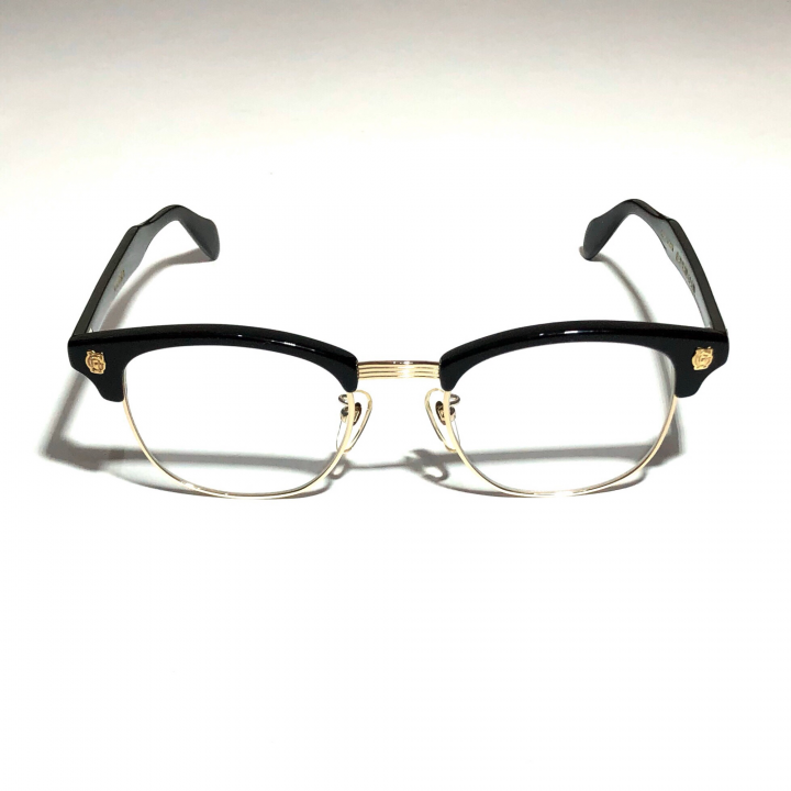 COLLINS – GLASSES / GOLD BLACK × CLEARの商品画像1
