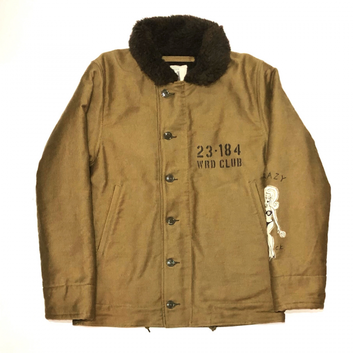 WRD CLUB – DECK JACKET / HAND PAINT / KHAKIの商品画像1