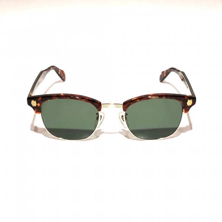 COLLINS – GLASSES / GOLD AMBER × D.GREENの商品画像1