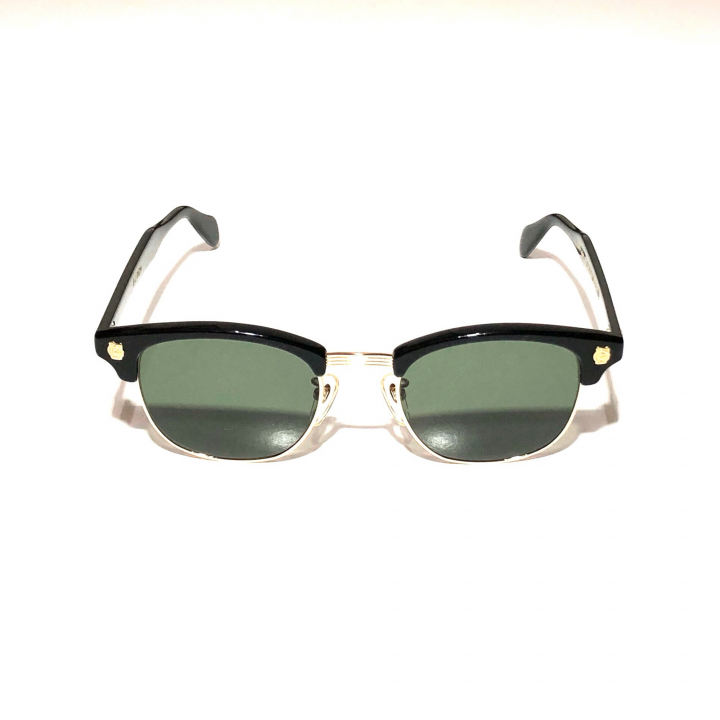 COLLINS – GLASSES / GOLD BLACK × D.GREENの商品画像1