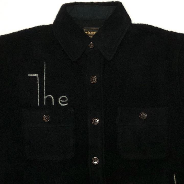 THE GLAD – L/S BOA SHIRTS / BLACKの商品画像4