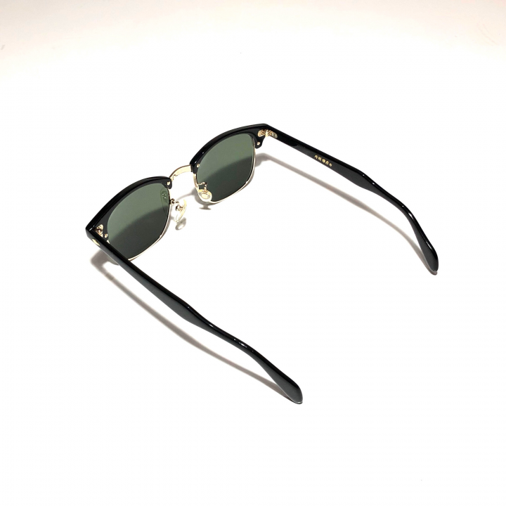 COLLINS – GLASSES / GOLD BLACK × D.GREENの商品画像3