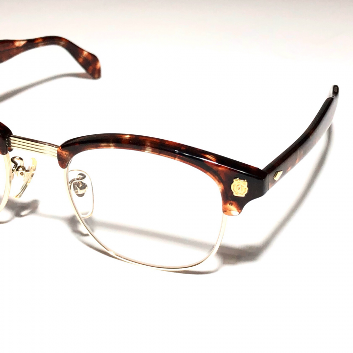 COLLINS – GLASSES / GOLD AMBER × CLEARの商品画像2