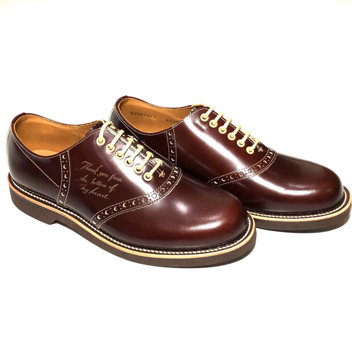 """SADDLE SHOES """"10th ANNIVERSARY"""" BROWNの商品画像2"""