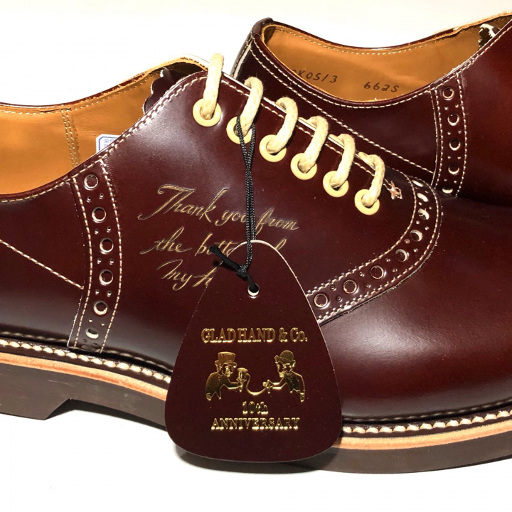 """SADDLE SHOES """"10th ANNIVERSARY"""" BROWNの商品画像3"""
