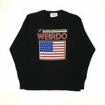 PORN WEIRDO AMERICA – L/S T – SHIRTS / BLACKの商品画像