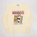 PORN WEIRDO – L/S T – SHIRTS / WHITEの商品画像
