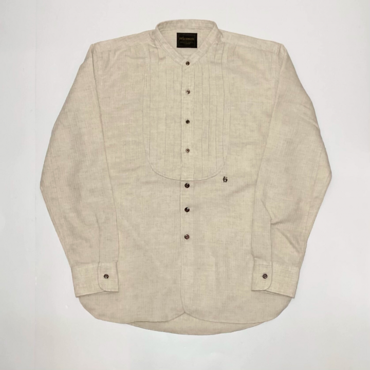 DINNER – L/S SHIRTS / NATURALの商品画像1