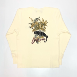 JUNGLE PANTHER – L/S T-SHIRTS / WHITEの商品画像