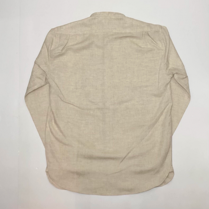 DINNER – L/S SHIRTS / NATURALの商品画像2