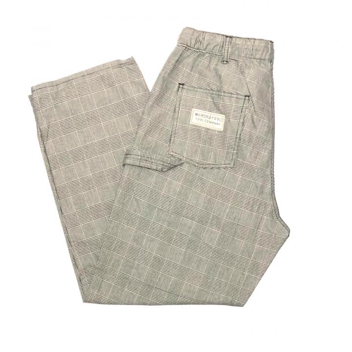 TOOL COMPANY – CHECK EASY PAINTER PANTS / GRAYの商品画像5