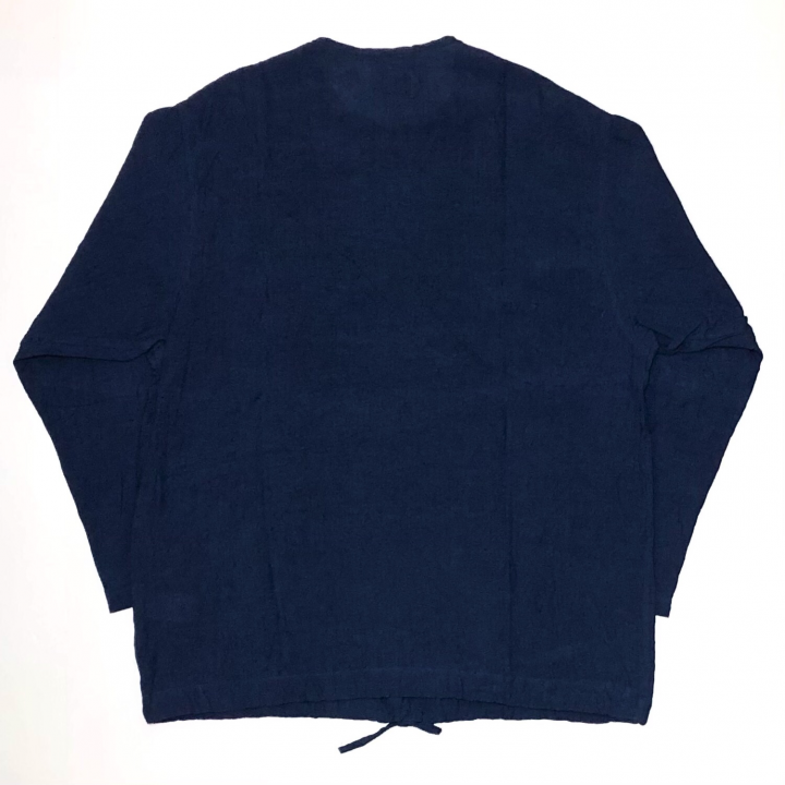 HOTEL ROYAL – L/S PULLOVER SHIRTS / NAVYの商品画像2