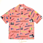 PORN WEIRDO – S/S COACHES SHIRTS / PINKの商品画像