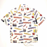 PORN WEIRDO – S/S COACHES SHIRTS / WHITEの商品画像