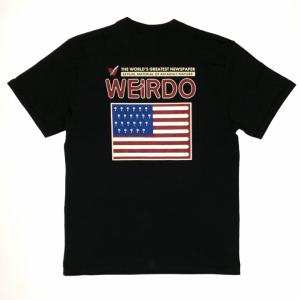 PORN WEIRDO AMERICA – S/S T-SHIRTS / BLACKの商品画像