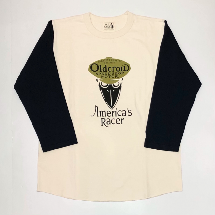 AMERICA'S RACER – TWO TONE T-SHIRTS NAVYの商品画像1