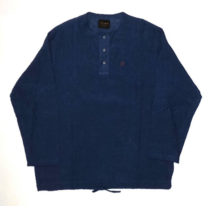 HOTEL ROYAL – L/S PULLOVER SHIRTS / NAVYの商品画像1