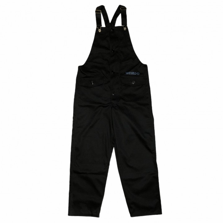 W & L UP – OVERALL / BLACKの商品画像1