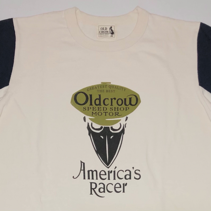 AMERICA'S RACER – TWO TONE T-SHIRTS NAVYの商品画像3