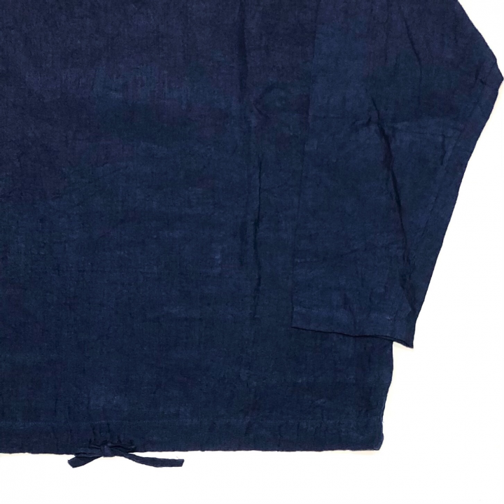 HOTEL ROYAL – L/S PULLOVER SHIRTS / NAVYの商品画像4