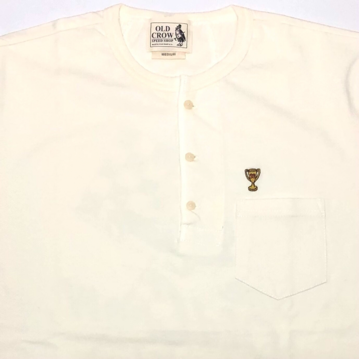 CHAMPIONS – S/S HENRY T-SHIRTS / WHITEの商品画像3