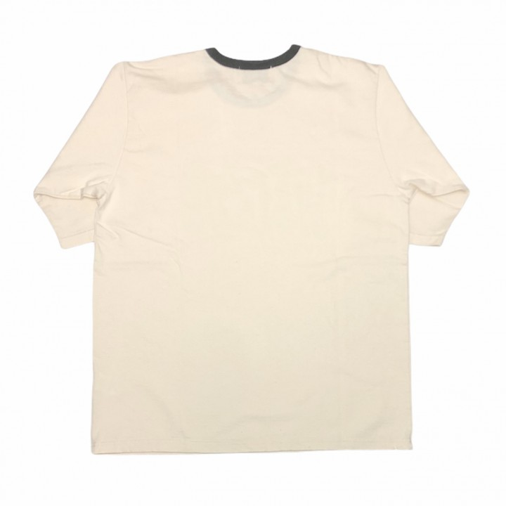 PORN WEIRDO – H/S RINGER T-SHIRTS / CHARCOALの商品画像2