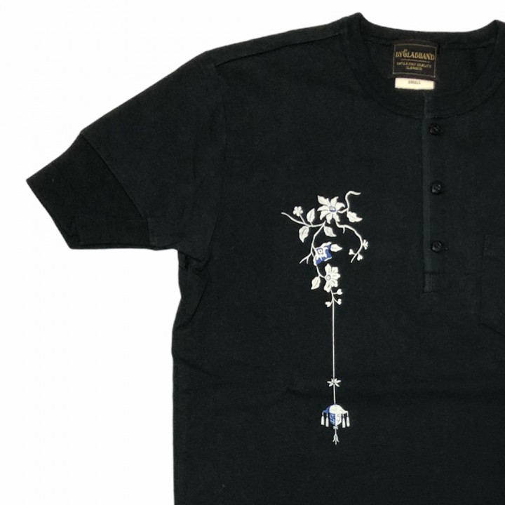 EMPIRE ROOM – S/S HENRY T-SHIRTS / BLACKの商品画像3