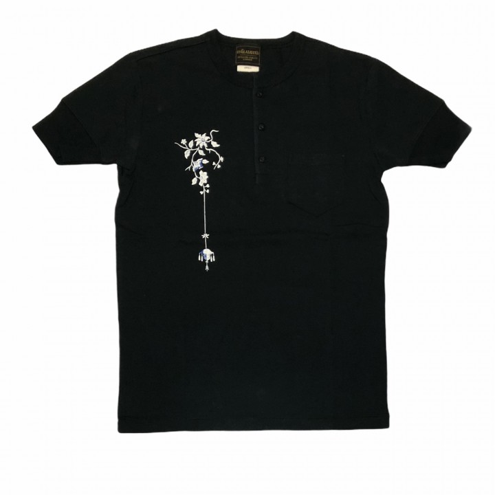EMPIRE ROOM – S/S HENRY T-SHIRTS / BLACKの商品画像1
