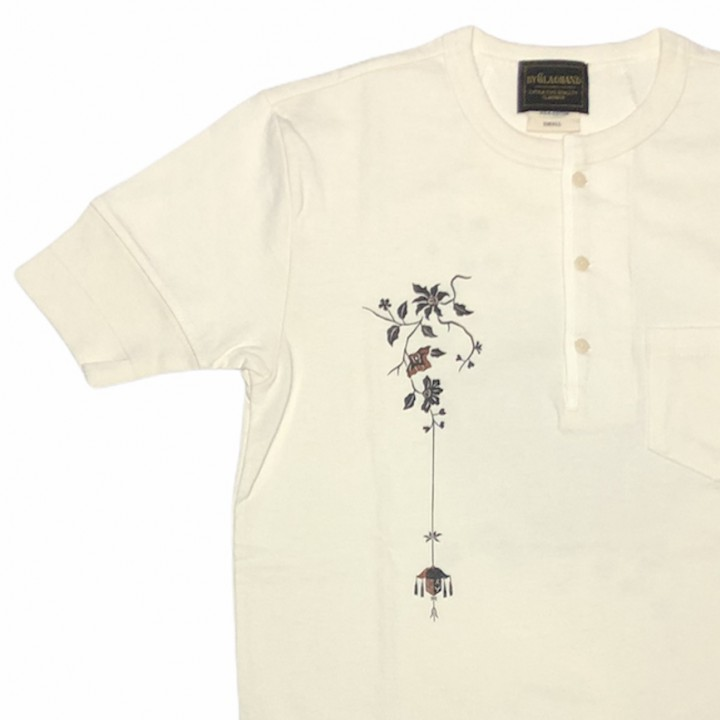 EMPIRE ROOM – S/S HENRY T-SHIRTS / WHITEの商品画像3