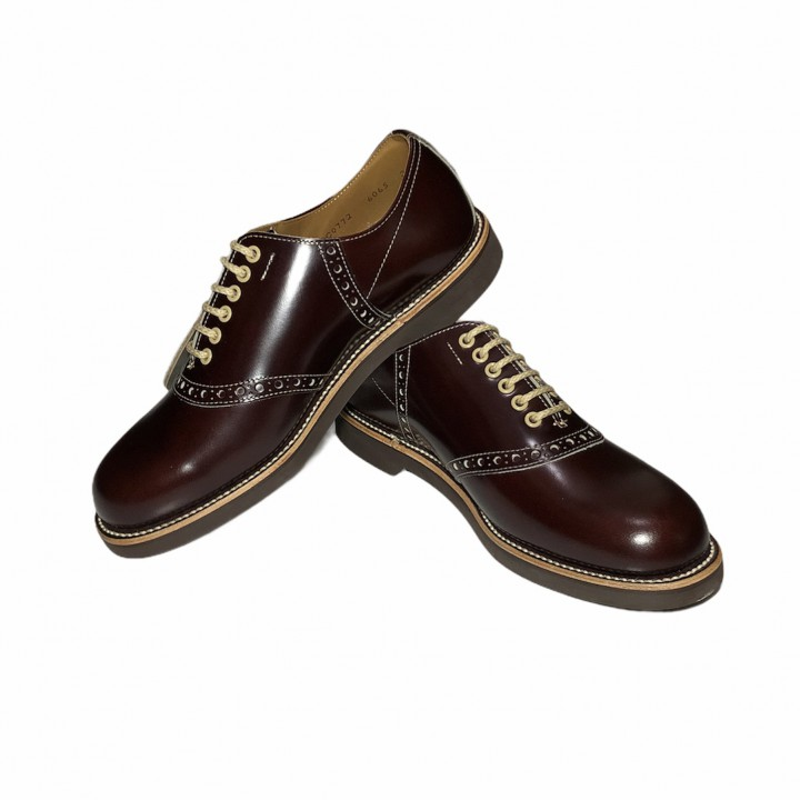 REGAL × GLAD HAND SADDLE – SHOES BROWNの商品画像1