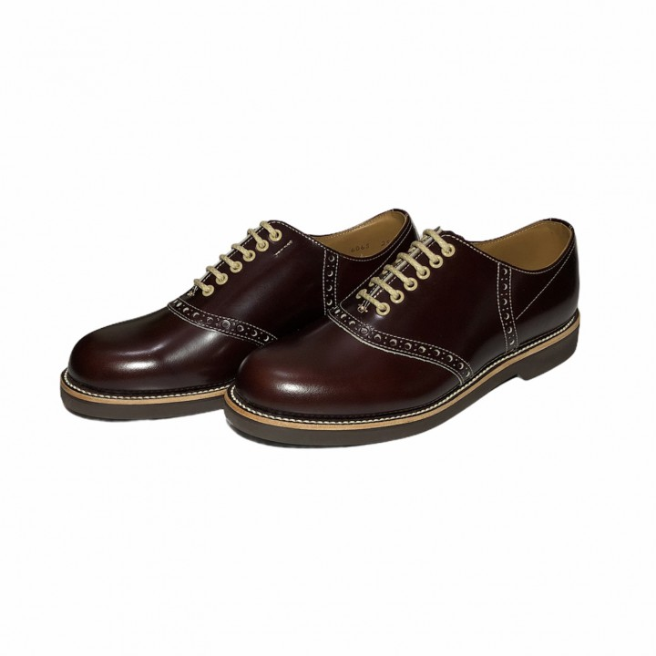 REGAL × GLAD HAND SADDLE – SHOES BROWNの商品画像2