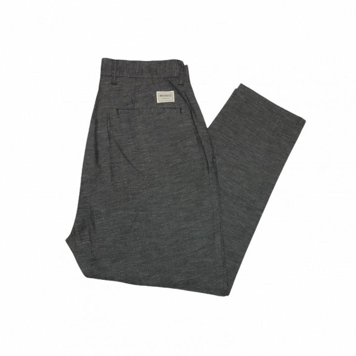 W& L UP – SLACKS / BLACKの商品画像5