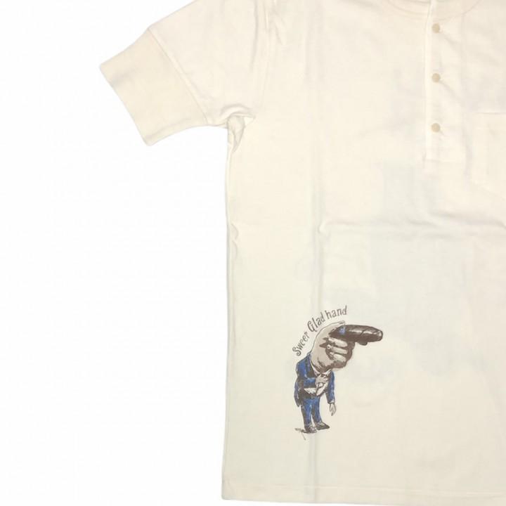 SEGAR – S/S HENRY – T-SHIRTS / WHITEの商品画像4