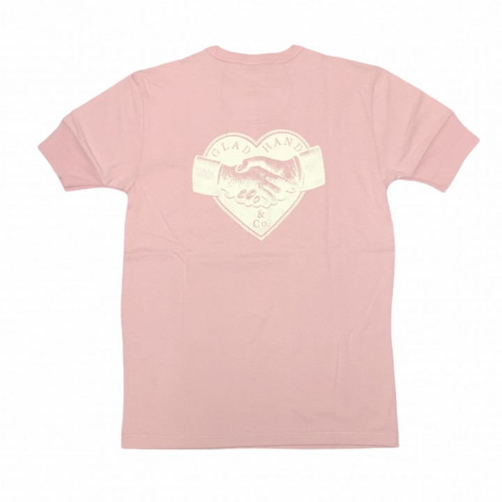 HEARTLAND – S/S HENRY NECK T-SHIRTS / PINKの商品画像2