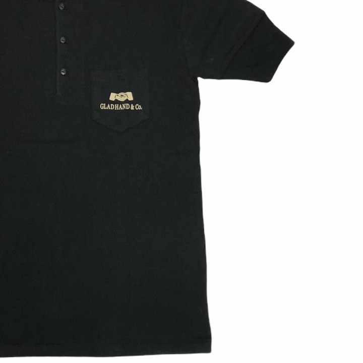 HEARTLAND – S/S HENRY NECK T-SHIRTS / BLACKの商品画像3