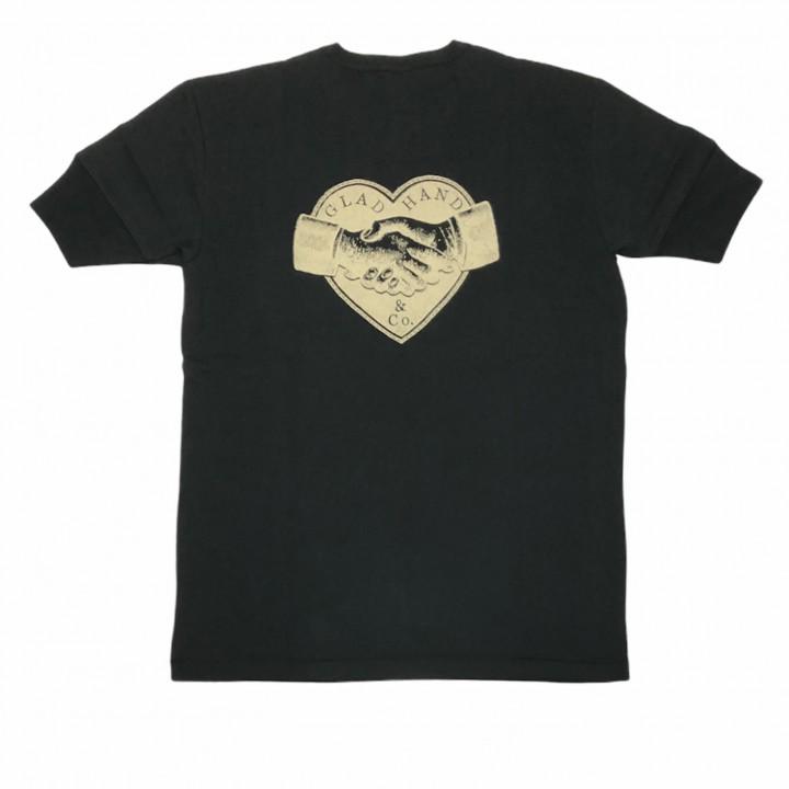 HEARTLAND – S/S HENRY NECK T-SHIRTS / BLACKの商品画像2