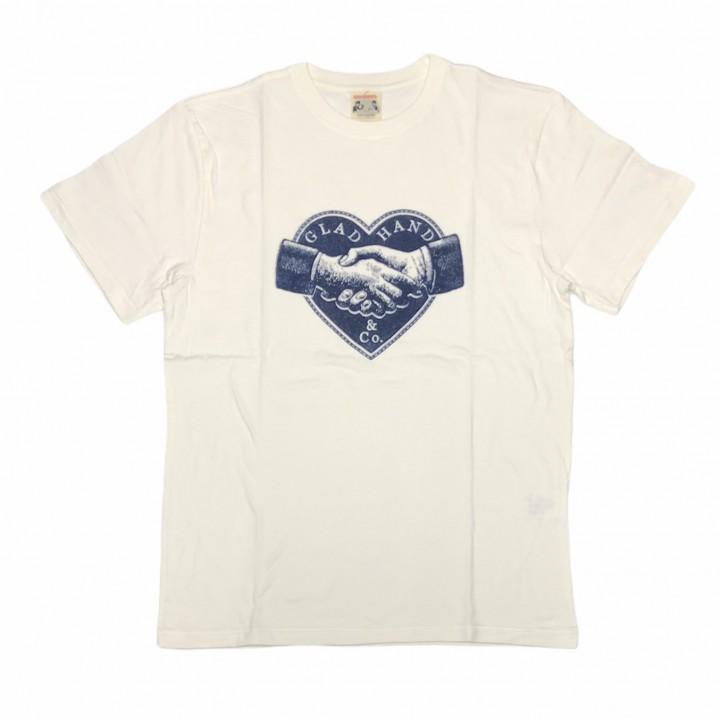 HEARTLAND – S/S T-SHIRTS / WHITEの商品画像1