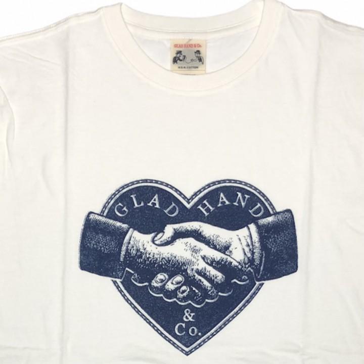 HEARTLAND – S/S T-SHIRTS / WHITEの商品画像2
