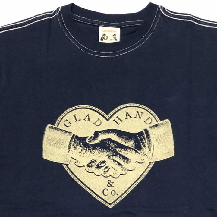 HEARTLAND – S/S T-SHIRTS / NAVYの商品画像2