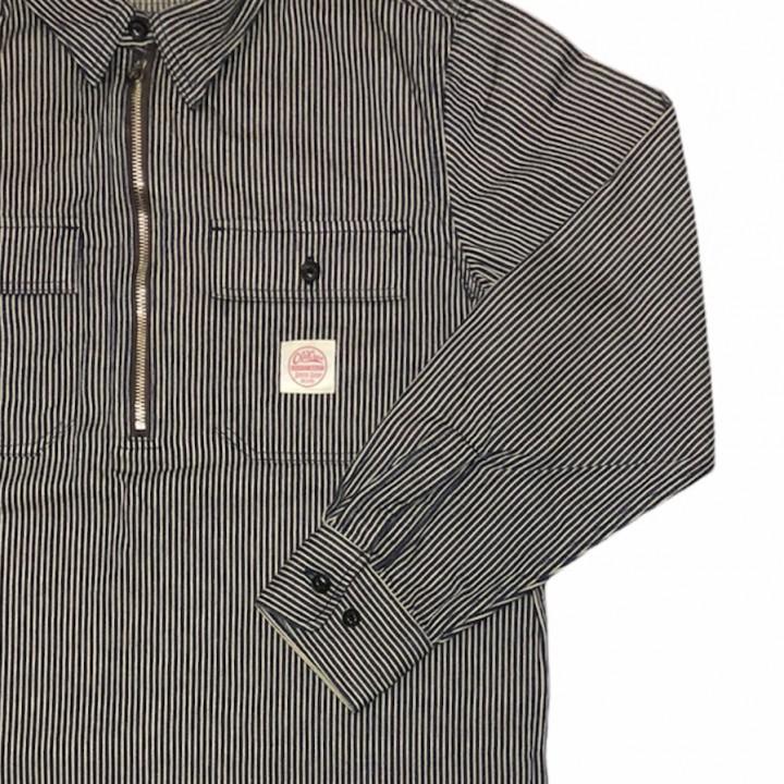 CROW BRAND – L/S PULLOVER SHIRTS / INDIGOの商品画像4