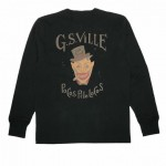 DEAL WITH THE DEVIL – L/S HENRY T-SHIRTS / BLACKの商品画像